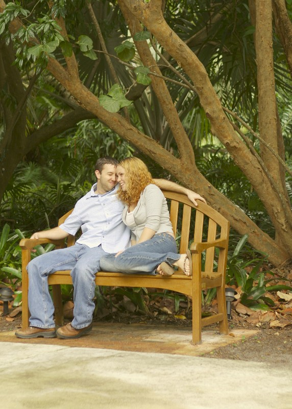 Couple-on-bench