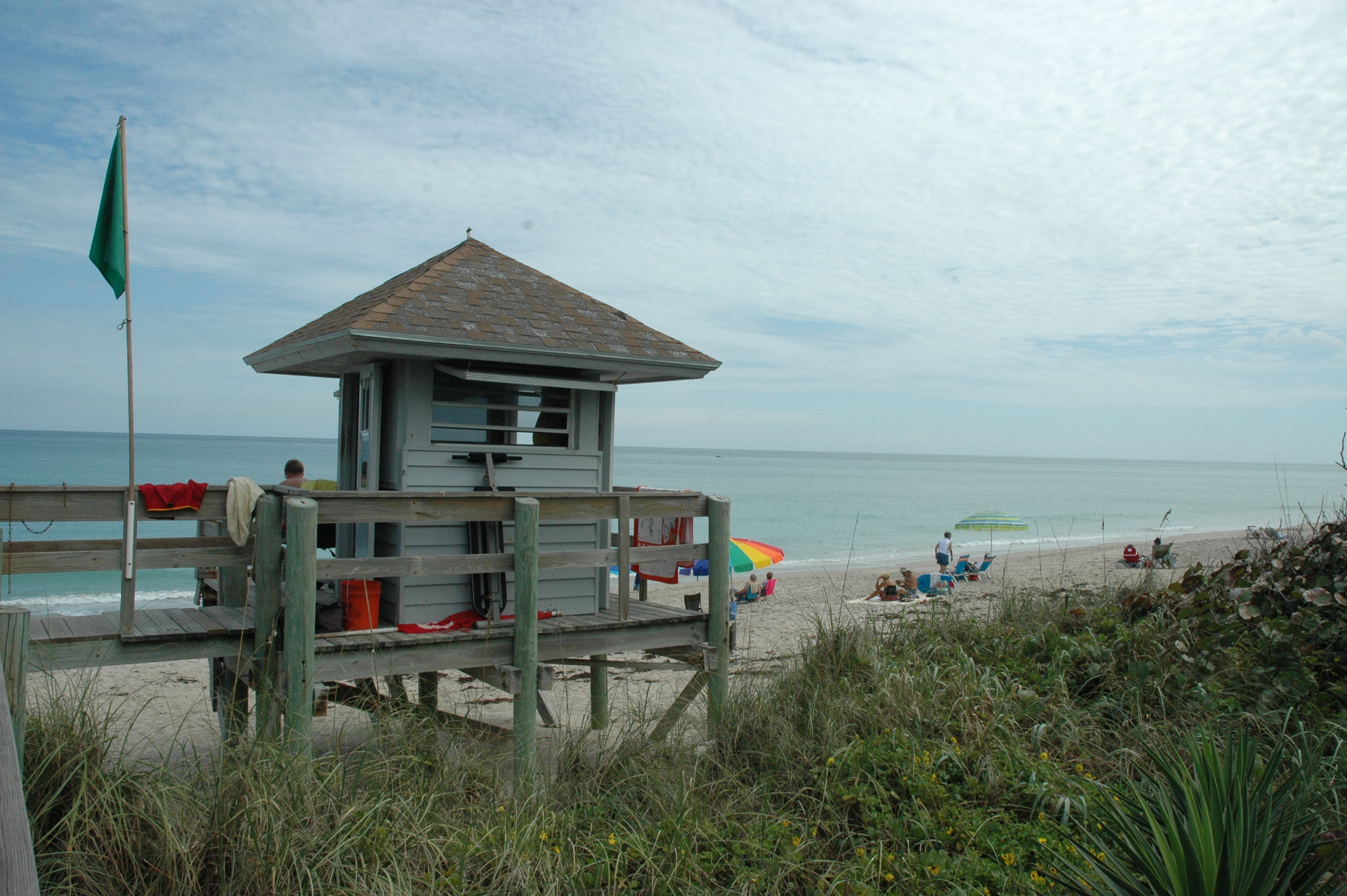 Waveland Beach Lifeguard Tower