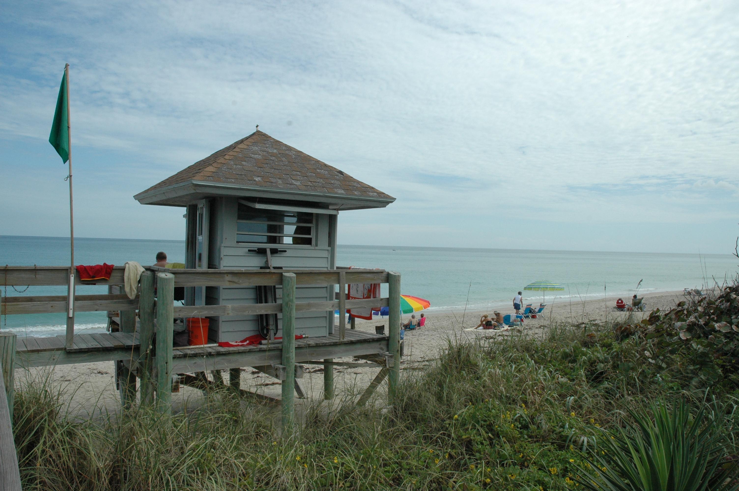 Waveland Beach Lifeguard Tower