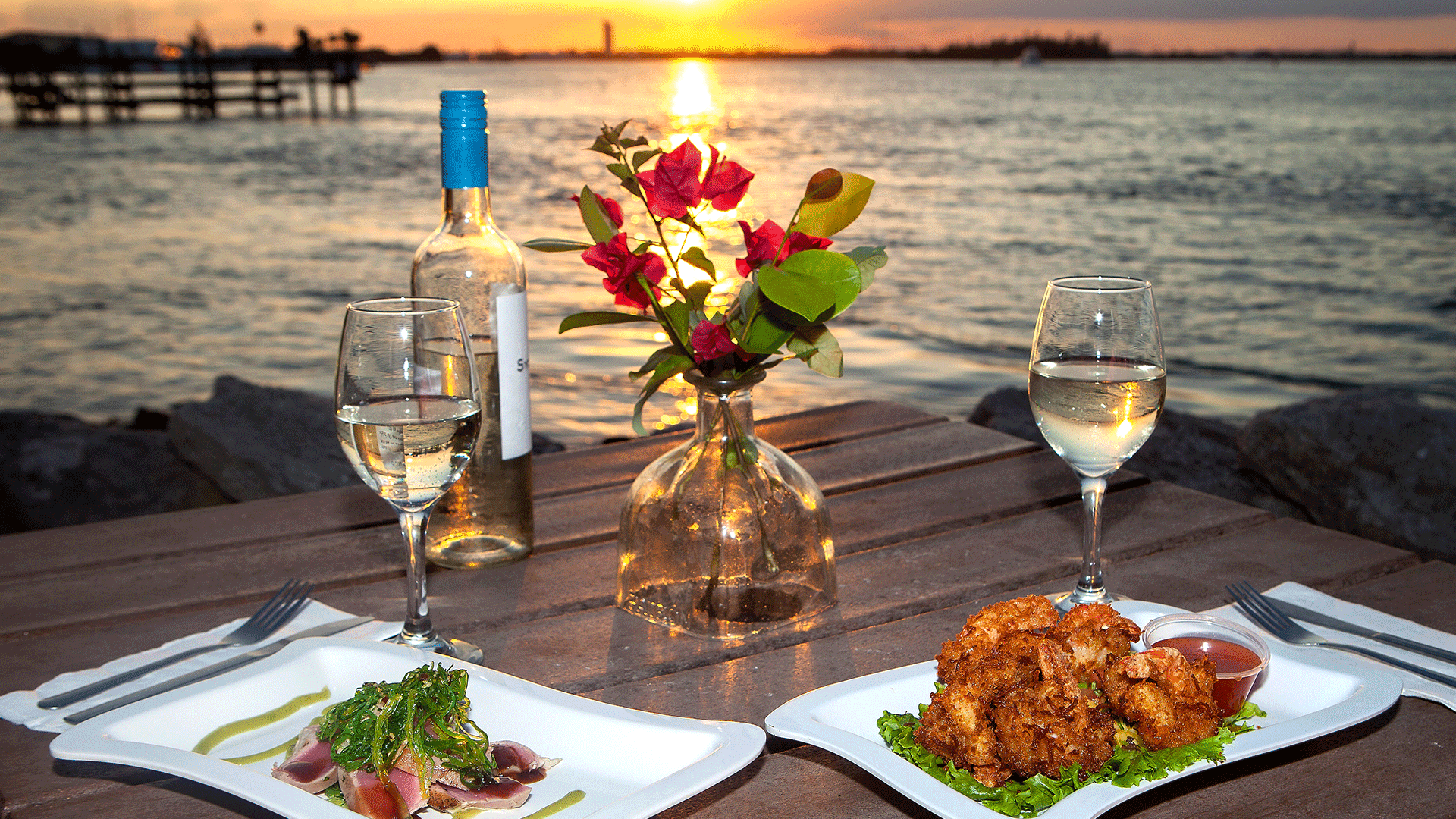 Sunset Dining in St. Lucie County