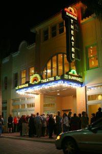 Sunrise Theatre Marquee