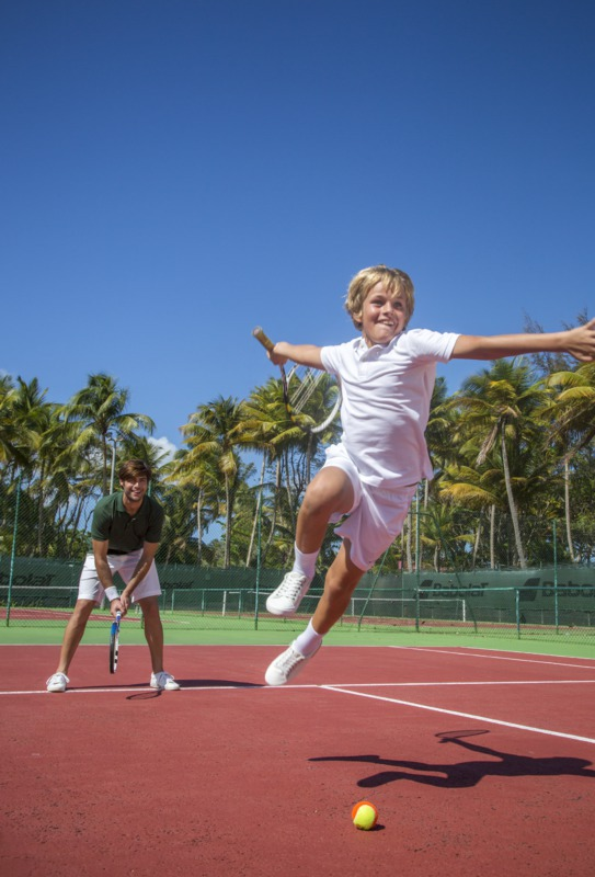 Junior Tennis Academy at Club Med Sandpiper