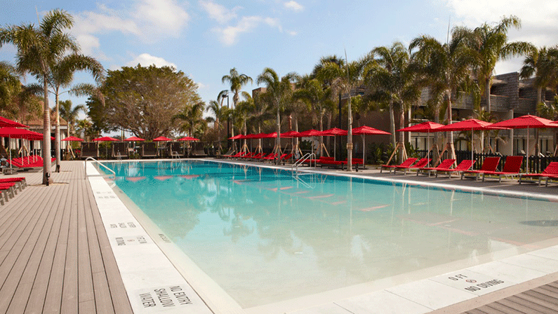 Swimming Pool at Club Med Sandpiper