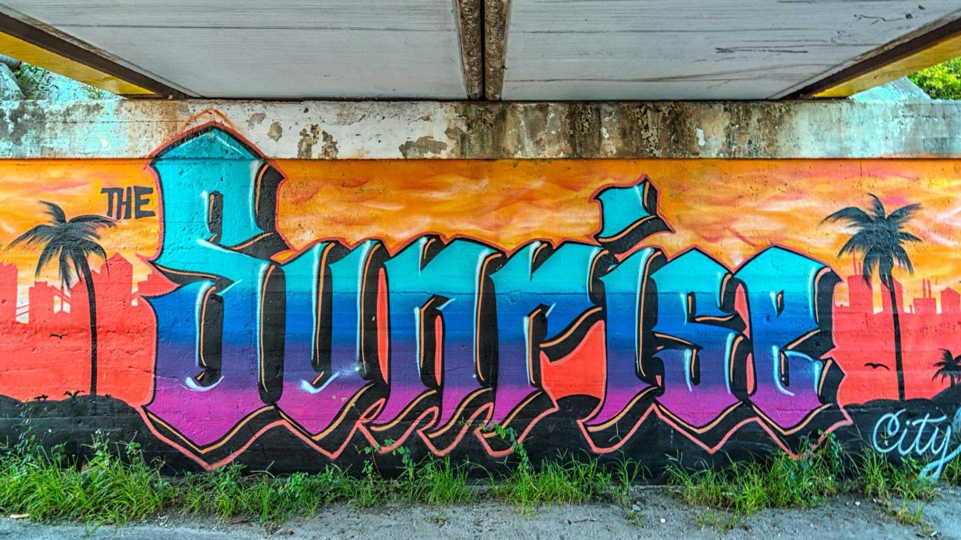 Sunrise City Mural