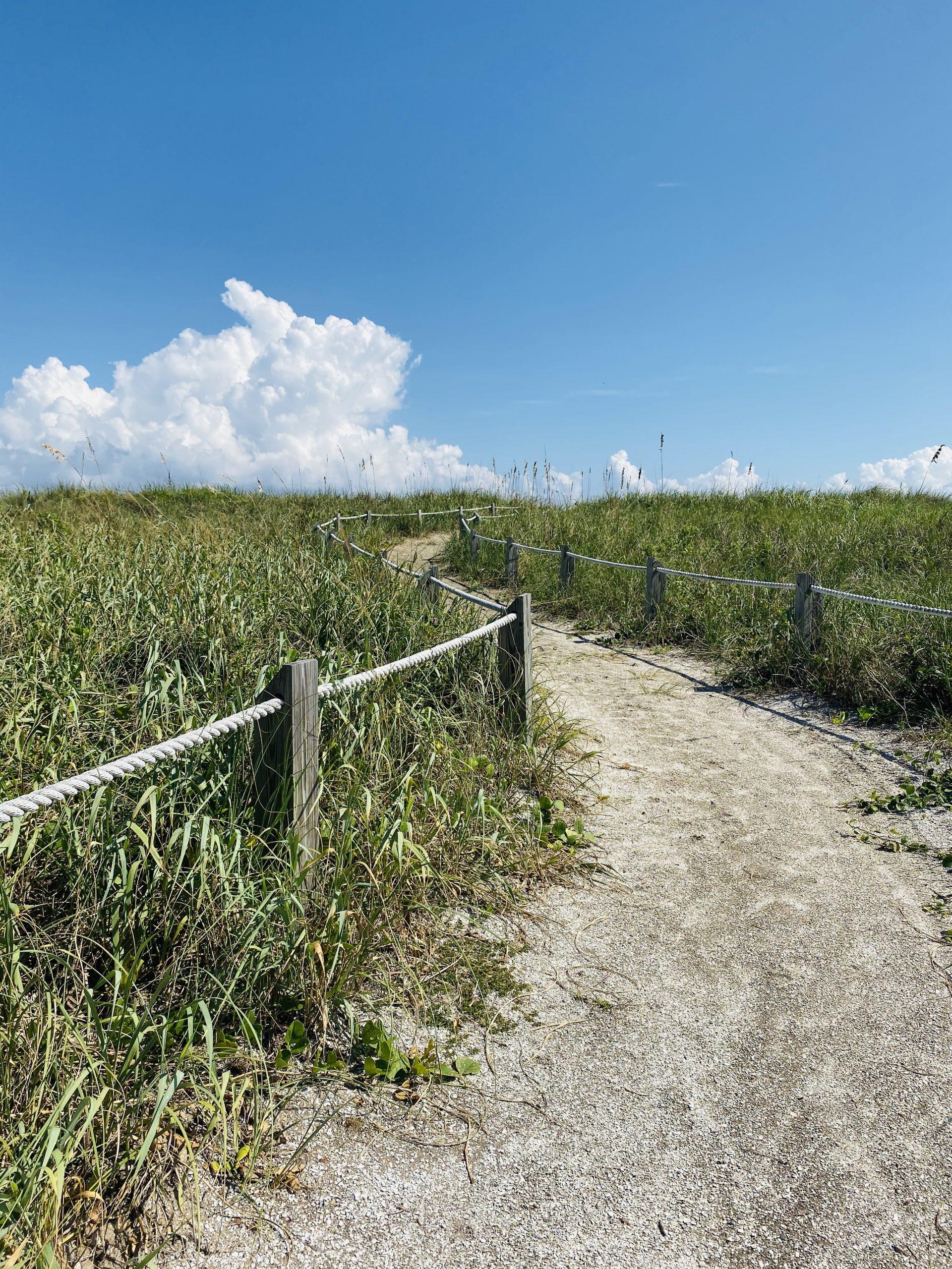 Sandy Trail towards the beach