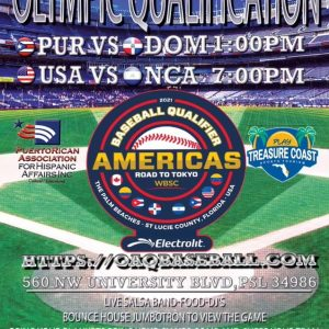 Olympic Qualifier Event Flyer