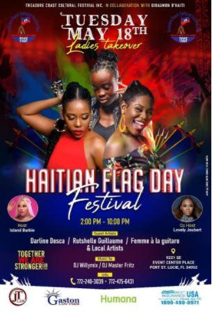 Haitian Flag Day Flyer
