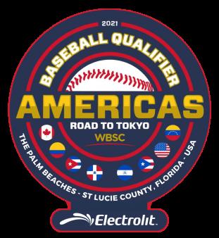 Baseball Olympic Qualifier Logo