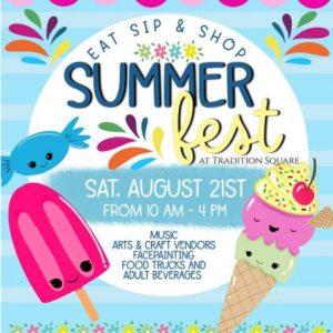 SummerFest Event Flyer